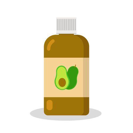 Cosmetology glass, plastic jar.  イラスト・ベクター素材