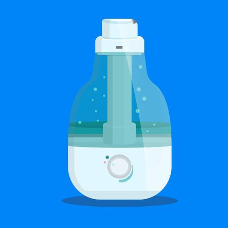 Cute ultrasonic humidifier for room, home, flat, office.