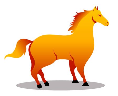 Fantastic beasts creatures. Set of mythical,mythological creatures,animals.Flat cartoon vector illustration on white.