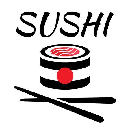 Sushi rolls food japanese. Asian sushi. Sushi bar,restaurant,accessories.