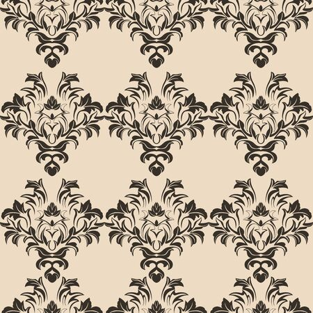 beige romance seamless pattern. Pattern for tile of curtains for wallpaper and clothes. Print of floral elements10 스톡 콘텐츠