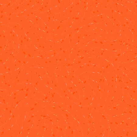 seamless Lush Lava color pattern on a orange background of round drops or splashes. Texture for fabric or packaging, drawing for printing on wrapping paper 版權商用圖片