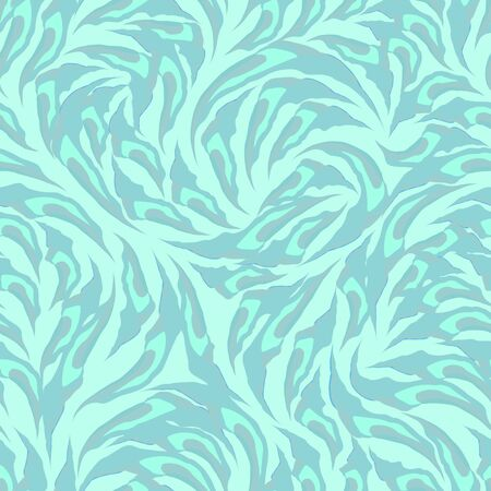 Seamless pattern of abstract tricolor torn shapes. Texture for fabrics or wrapping paper 版權商用圖片
