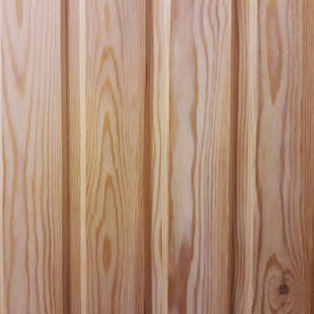 Vector wooden planks in the style of realism. Environmentally friendly lining for saunas and steam rooms.Board background with wooden texture of pine or larch.