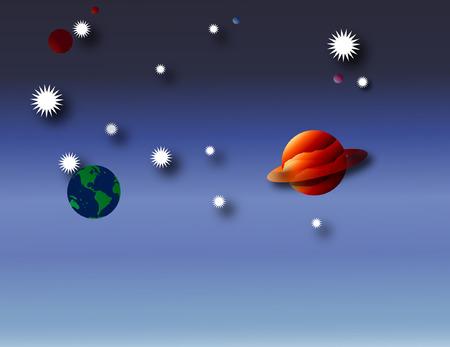 Space 向量圖像