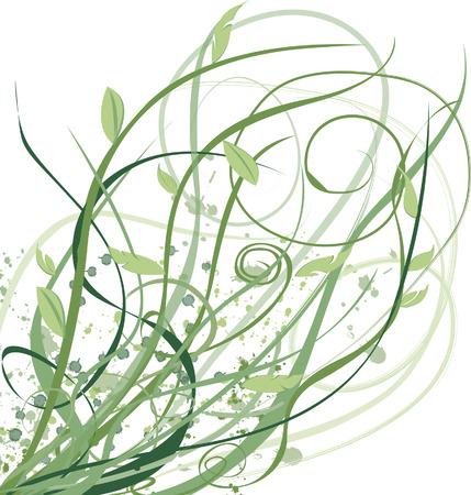 intertwined: Vines Interwined Illustration