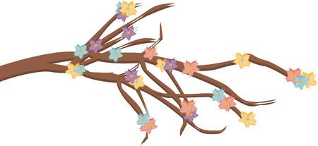 flower branch Ilustração