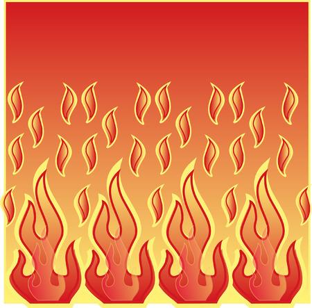 Flames Stock fotó - 3608942