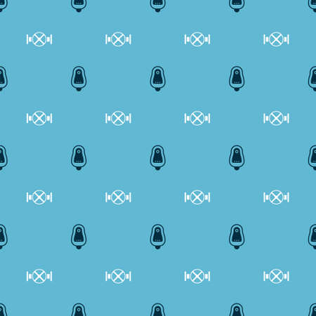 Set Toilet urinal or pissoir and Industry pipe and valve on seamless pattern. Vector