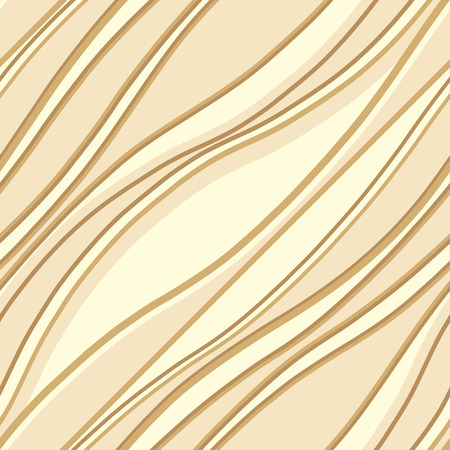 Diagonal undulating lines and curves vector illustration. Wavy lines seamless pattern.