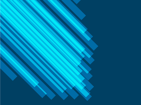 Corporate cover concept with blue abstract background. Shiny presentation vector backdrop.