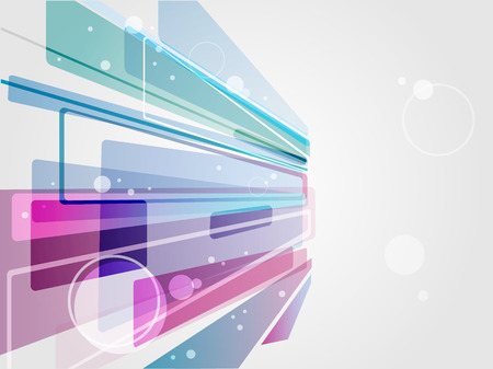 Business futuristic card concept. Transparent effect vector background.