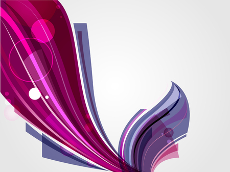 Abstract futuristic shape with glossy. Artistic template. Vector background illustration. Иллюстрация