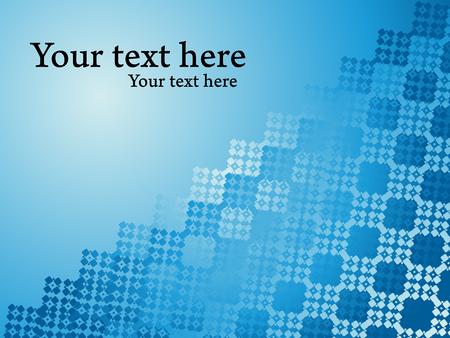 Blue shiny vector background. Business presentation concept.