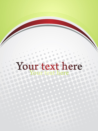 Business presentation background with text space. Abstract vector template.