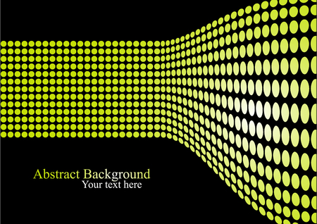 Light wall and text space. Abstract background with yellow dots. Presentation concept.