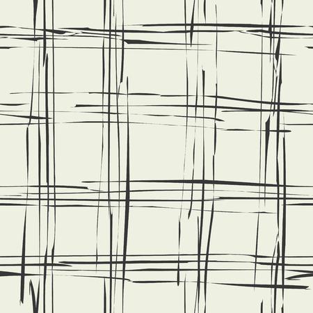 British checkered damaged seamless pattern. Grunge tartan vector background. Фото со стока - 121666969