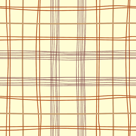 British traditional repeat texture. Vector background with parallel lines. Checkered seamless pattern.