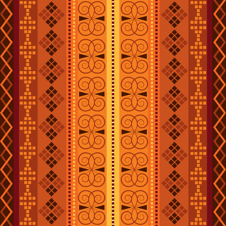 Ethnic national carpet. Traditional vector background. Cloth design seamless pattern. Фото со стока - 121667055