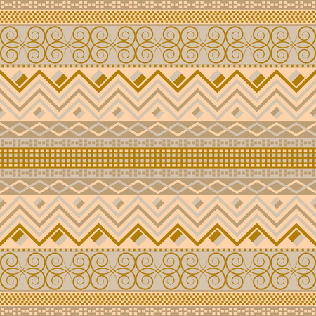 Traditional cloth design. Ethnic seamless pattern. Vintage carpet motifs. National texture.