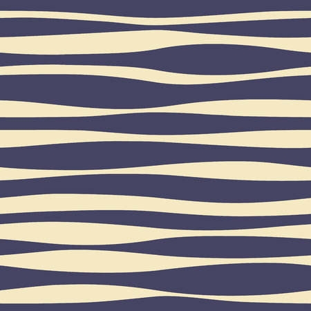 Irregular and asymmetric vertical lines vector background. Seamless pattern with thick stripes. Illustration