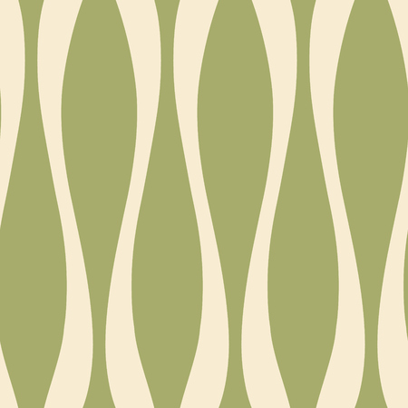 Symmetrical vertical lines endless vector. Simple corrugated shapes seamless pattern.