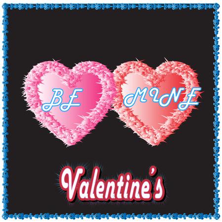 be mine: Be Mine Valentine Illustration