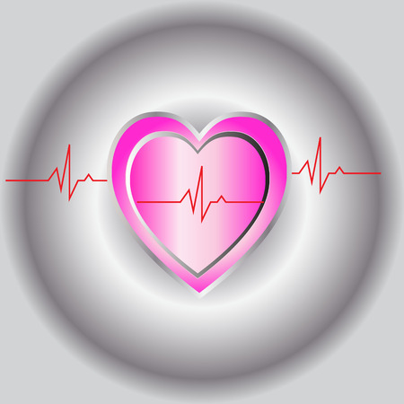 beat: pink heart beat
