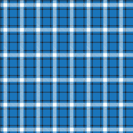 plaid pattern: Plaid Pattern  Blue Background Black and White Line