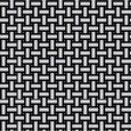 metal pipe: Metal pipe wicker created by illustrator vector technique