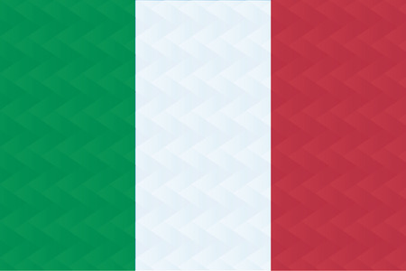 esp: Flag of Italian in art design illustrator vector ESP 10