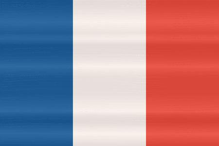 unitary: France flag in art design