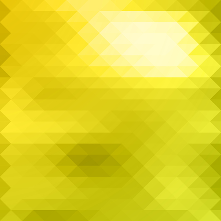 Abstract Mosaik Yellow And Lemon Colors.