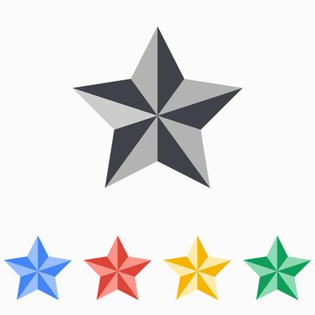 appraisal: Star icon illustration.