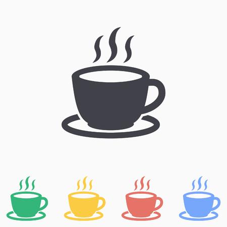 Coffee cup icon Иллюстрация