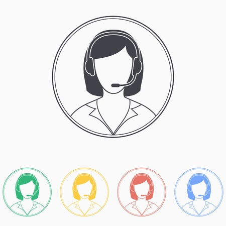 customer support: Support icon