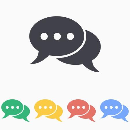 Chat icon Illustration