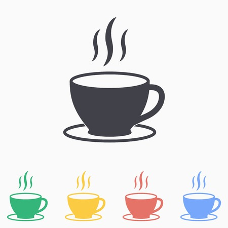 Coffee cup icon.