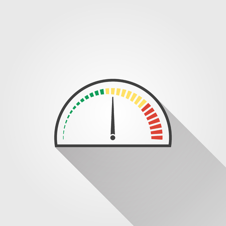 internet speed: Speed - vector icon on a white background.