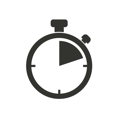 stopwatch: Stopwatch  icon  on white background. Vector illustration.
