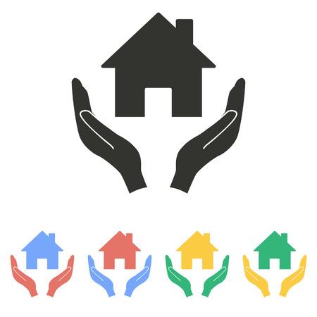 philanthropist: Donate  icon  on white background. Vector illustration.