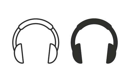 headphone vector icon black illustration isolated on white rh 123rf com headphone vector png headphone vector png