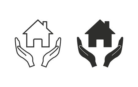 philanthropist: Donate   vector icon. Black  illustration isolated on white  background for graphic and web design. Illustration