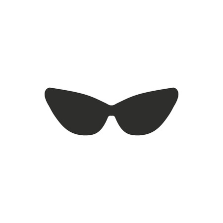 aviators: Sunglasses   vector icon. Illustration isolated on white  background for graphic and web design.