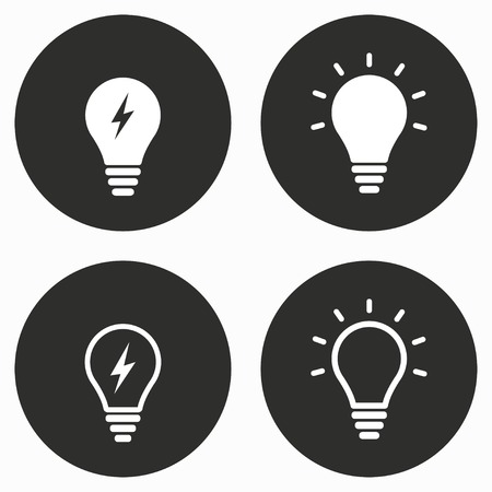 Lamp    vector icon. Illustration isolated for graphic and web design.