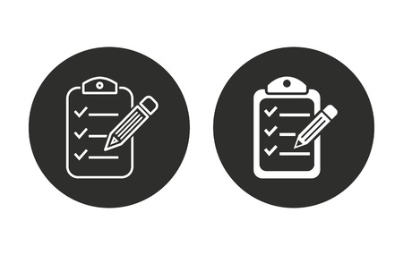 roster: Clipboard    vector icon. Illustration isolated for graphic and web design.