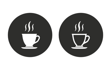 coffee cup vector: Coffee cup     vector icon. Illustration isolated for graphic and web design.