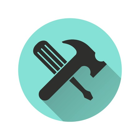 instrumentation: Tool vector icon. Illustration isolated for graphic and web design.