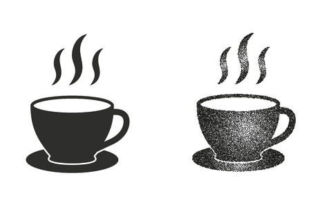 coffee cup vector: Coffee cup vector icon. Illustration isolated on white background for graphic and web design.
