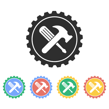 Tool vector icon. Illustration isolated on white background for graphic and web design. Illustration